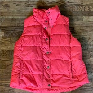 Old Navy down puffer vest.